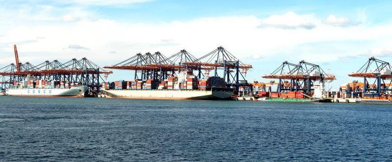 Industrial Port Rotterdam