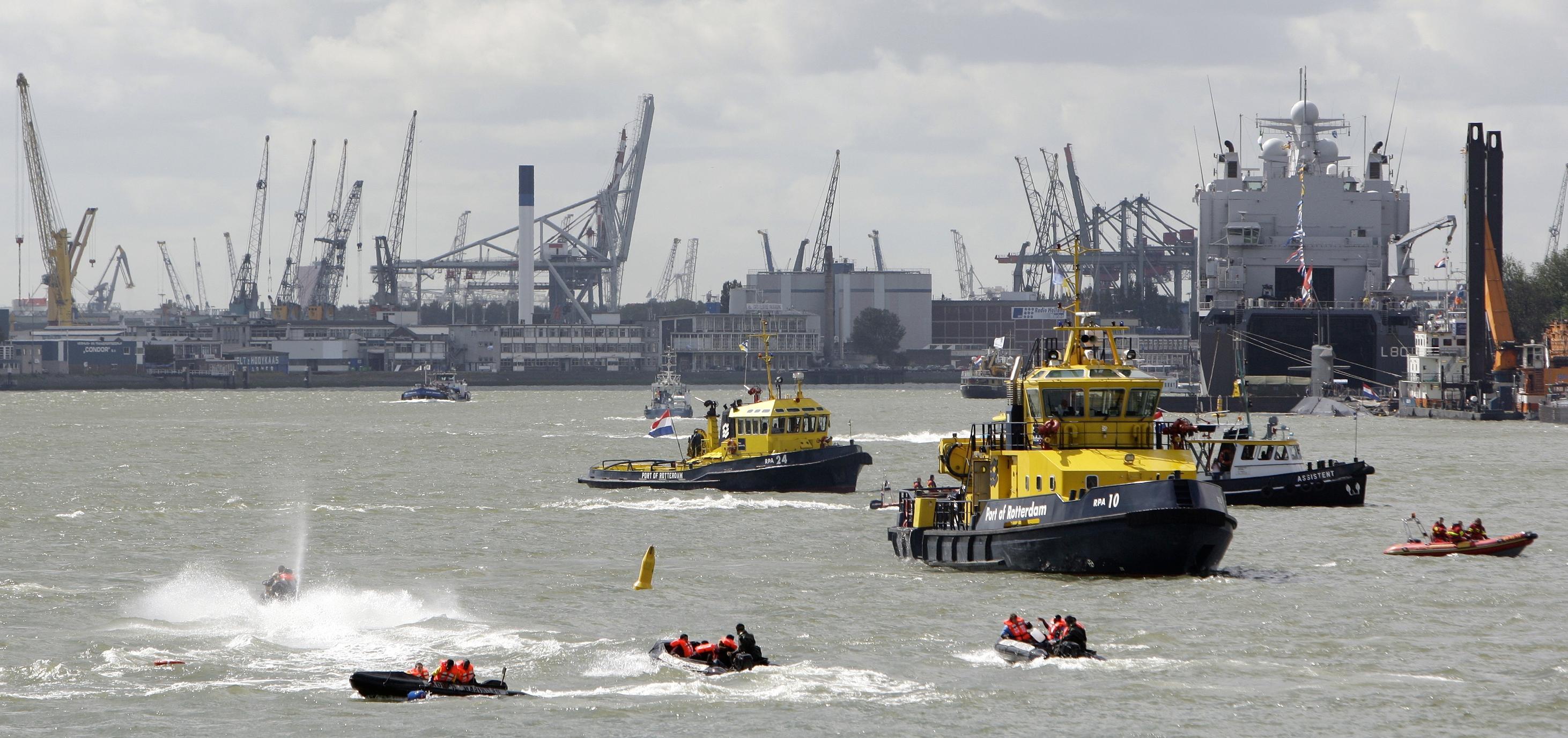 Rotterdam Boats Harbor Haven Boten